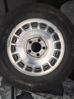 P205/70/R15 summer rims and michelin tires