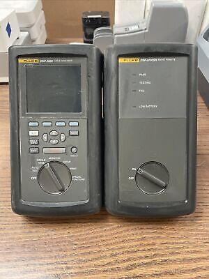 Fluke Dsp-2000 Cable Analyzer Dsp-2000sr Smart Remote