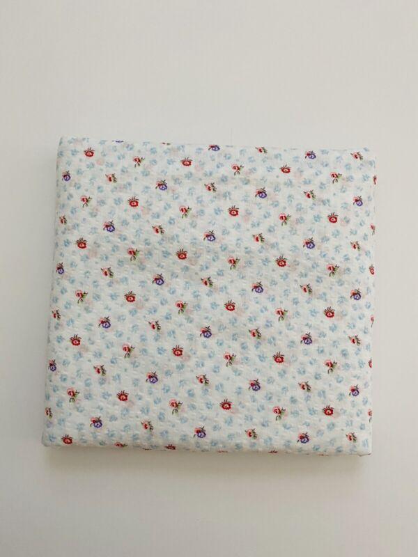 Vintage Floral Plisse Wamsutta Fabric