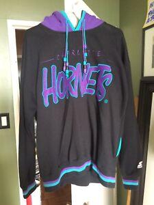 NBA starter hoodie Hornets