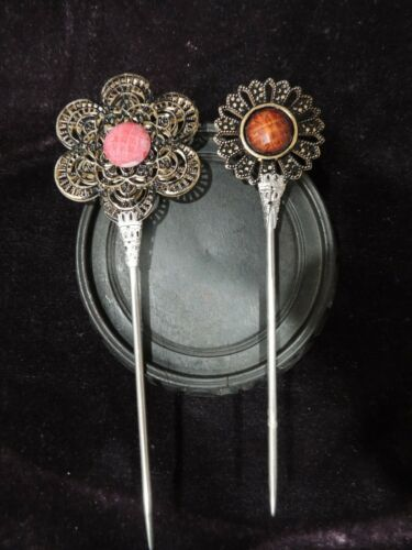 Vintage Tibet Hairpin 2 pieces set