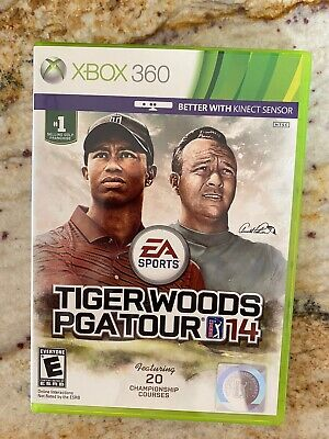 Tiger Woods PGA Tour 14 - Arnold Palmer for Xbox 360 - Complete & Tested