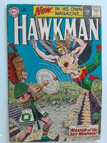 Hawkman #1 Fine. 6.0. 1964 1ST First Hawkman Nice DC 1st issue Silver Age