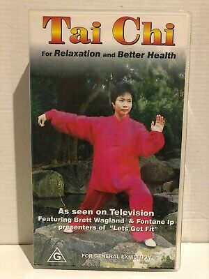 TAI CHI for BETTER HEALTH with BRETT WAGLAND & FONTANE IP ~ BRAND NEW VHS VIDEO