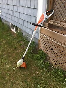 Stihl rechargeable battery trimmer