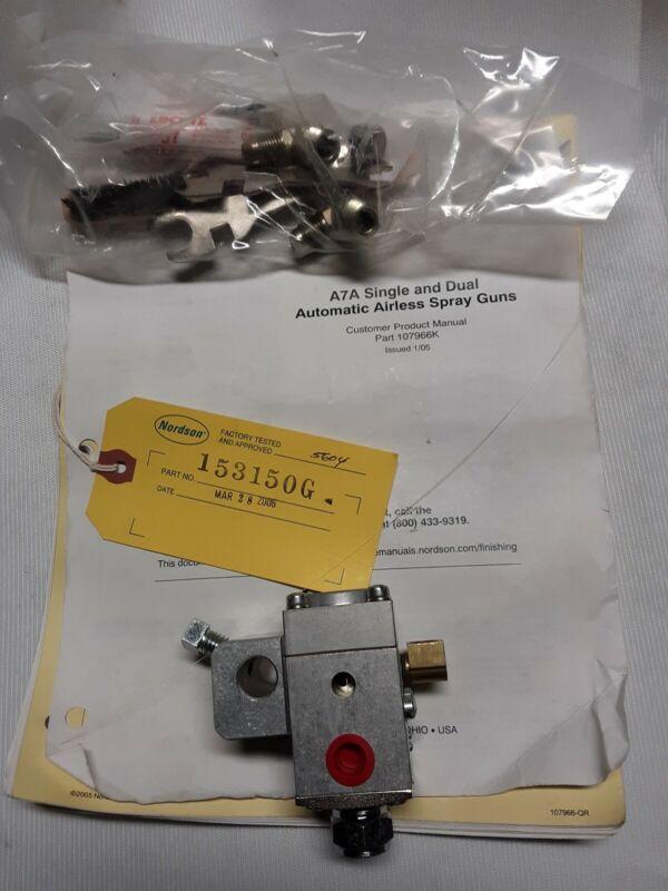 Nordson 153150G Airless Spray Gun Valvr