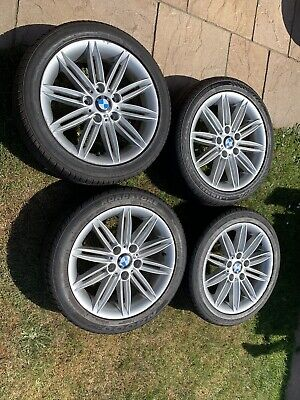 "BMW 1 SERIES E81 E82 E87 E88 17"" M SPORT ALLOY WHEELS"