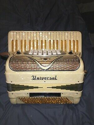 Vintage Universal Accordion - 1950's