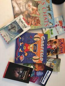Livres variés pour enfants et adolescents dont Rouge Poison
