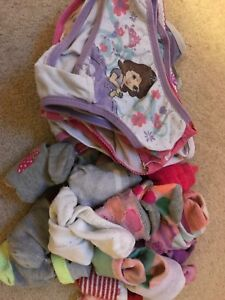 Free toddler 2/3 underwear and socks