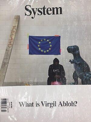 System magazine Virgil Abloh issue No. 10