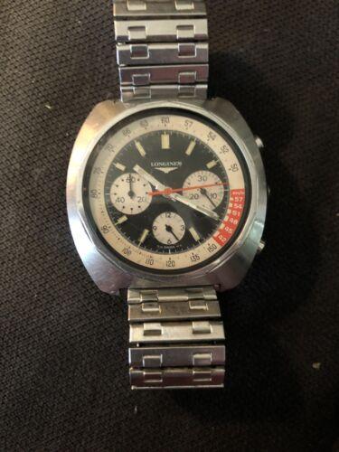 Longines Chronograph Paul Newman 8226-4 1969 1970 3-Register Men's Watch Vintage - watch picture 1