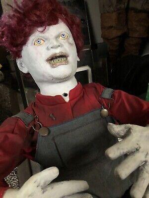 Zombie Babie Timmy Tumbles Spirit Halloween Halloween Prop Rare Htf Animated