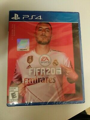 Fifa 20 soccer ps4 New Factory Sealed