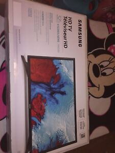 """Samsung 32"""" SMART TV new in the box."""