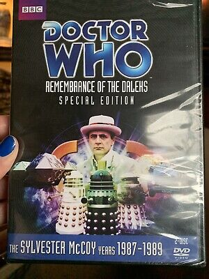 DOCTOR WHO - REMEMBRANCE OF THE DALEKS NEW DVD