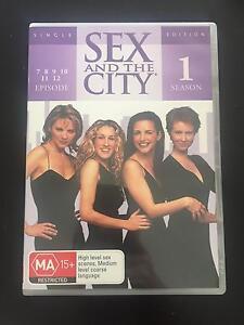 DVD - SEASON 4 - Sex and the city Sydney City Inner Sydney Preview