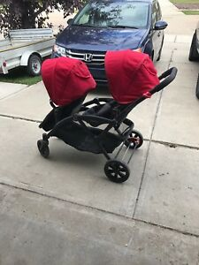 Options contour double stroller