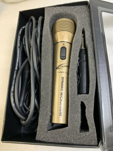 Vintage Califone PAMR-115 VHF Wireless Dynamic Microphone System - MINT  - $79.99