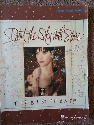 piano vocal guitar songbook hal leonard paint the sky with stars best of