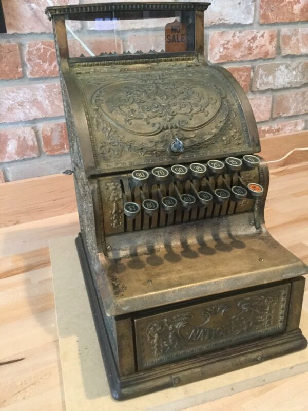 Antique National Cash Register Model 311
