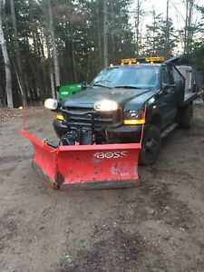 Ford F-350 dully plow truck