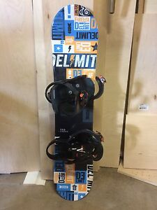 Boys Snowboard/Boots and Bindings