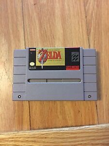 Legend of Zelda snes