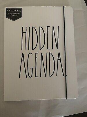 Rae Dunn Hidden Agenda 2021 Planner Aug. 2020 To Dec. 2021 Softbound 12 Months