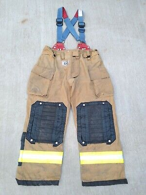 Morning Pride Fire Fighter Turnout Pants Size 40 X 31 Gear Bunker Apparel 2013 X