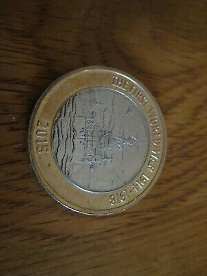 First World War £2 pound coin Royal Navy HMS Belfast
