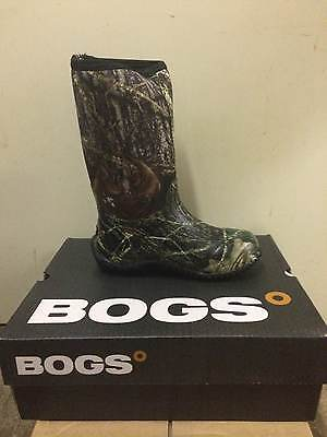 NEW Bogs youth Boy's Classic High Waterproof Boots Mossy Oak 61672 all sizes