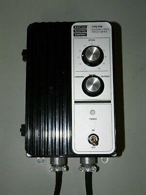 New Bodine Adjustable Speed Torque Dc Motor Control Type Fpm Model 838