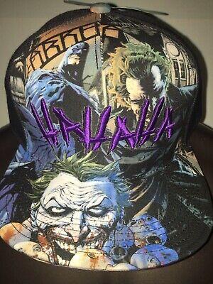THE JOKER Harley Quinn SUICIDE SQUAD Batman movie COMIC Book New Men's HAT Cap](Joker Hat Batman)
