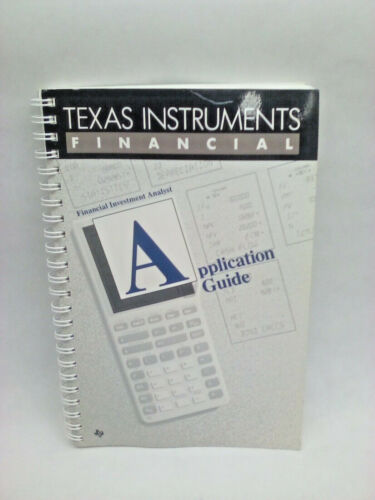 Texas Instrument Financial Investment Analyst Application Guide Book 1988