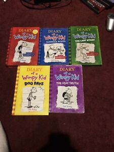 First 5 Diary of a Wimpy Kid books