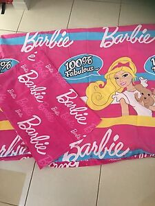 Quilt cover and pillowcase Barbie Nudgee Brisbane North East Preview
