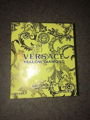 BRAND NEW SEALED! Versace Yellow Diamond 90ml Eau De Toilette Natural Spray!