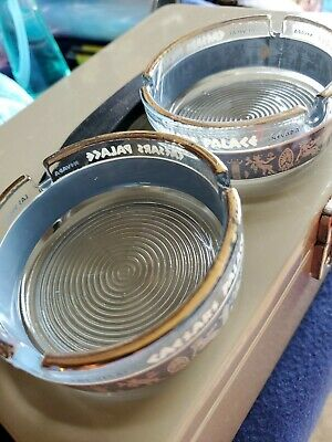 Caesars palace Vintage Set Of Ashtrays Las Vegas
