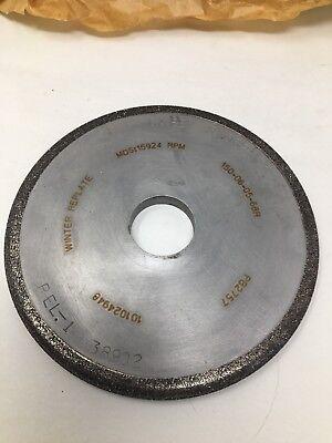 "SHARS 6 X 1 X 1-1//4 X 3//8/"" PRECISION D12A2 DIAMOND DISH WHEEL GRINDING 30 DEGREE"