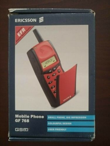 Ericsson gf 768 Red box only