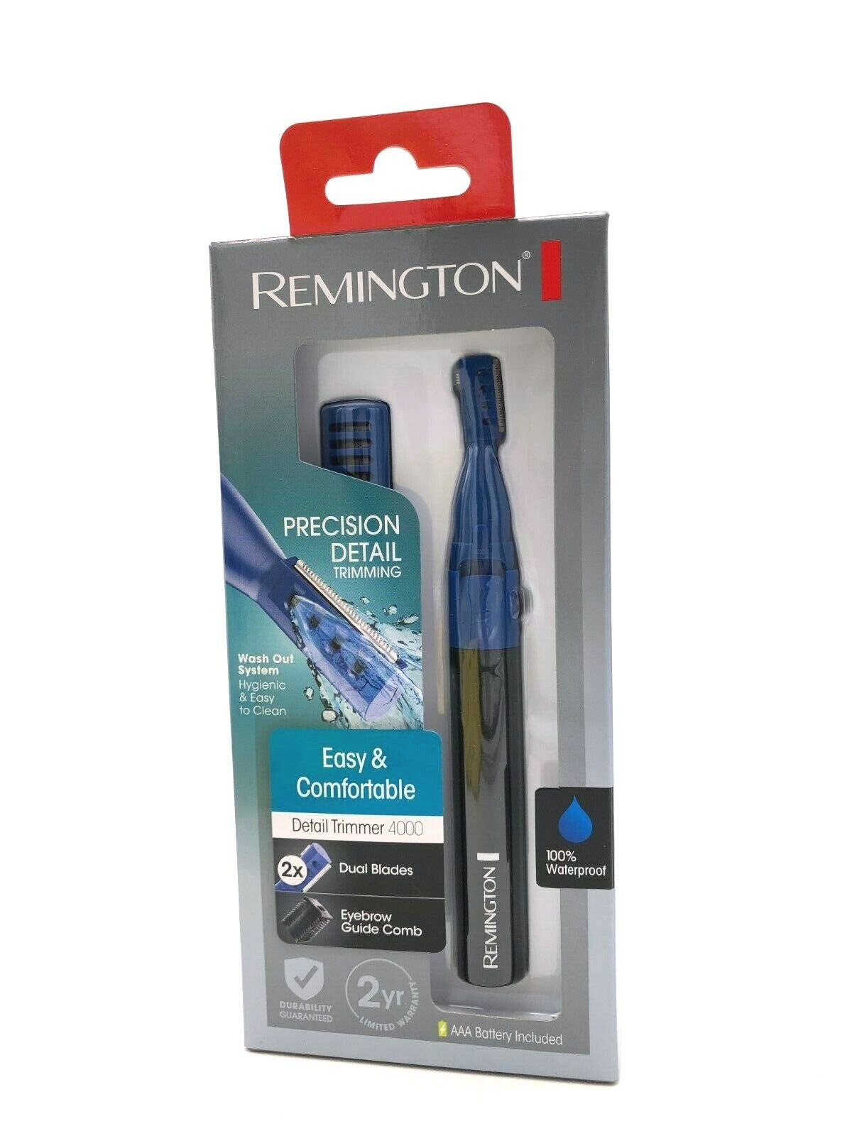 Remington - Dual Blade Wetech™ Detail Trimmer - Blue