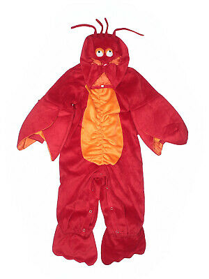Boy InCharacter Lil Lobster Halloween Costume Size S 6-12   Months Sebastian