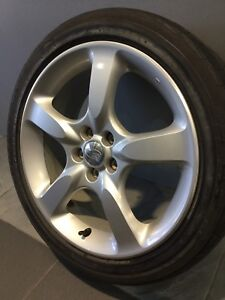 "SUBARU LIBERTY/ IMPREZA 17"" GENUINE ALLOY WHEELS AND TYRES Carramar Fairfield Area Preview"