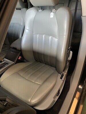 CHRYSLER 300C GREY LEATHER PASSENGER SEAT INTERIOR 3.0 Crd Hemi #6