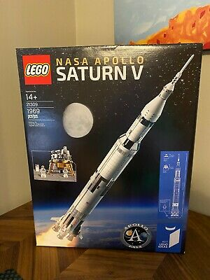 LEGO Ideas 21309 NASA Apollo Saturn V - NEW Sealed, FREE Shipping, Space, Moon