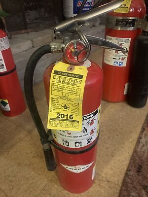 Amerex B441 Fire Extinguisher 4a80bc Dry Chemical 10 Lb 2016