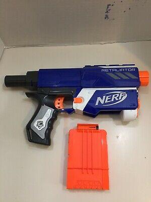 Nerf N-Strike All Blue Elite Retaliator Blaster + FREE SHIPPING