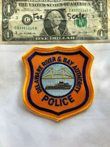 Delaware River & Bay Authority Police Patch un-sewn in great shape