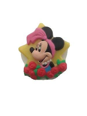 Vintage 1989 Disney Avon Minnie Mouse Plastic Button Pin
